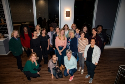 WIP attendees with industry guest Kim Sherman